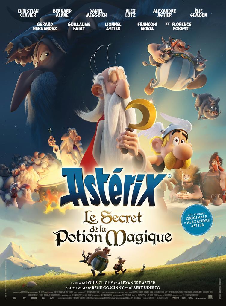 Astérix - Le secret de la potion magique   Astier, Alexandre (1974-....). Metteur en scène ou réalisateur. Scénariste